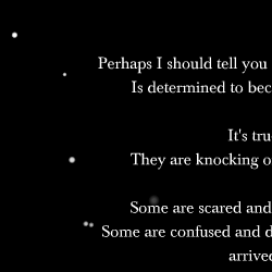 "Screen capture of ""Like Stars in a Clear Night Sky"" by Sharif Ezzat. A cropped poem over a black background. Text: ""(incomplete)"""