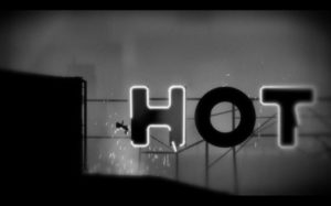 Screen Capture from Limbo (videogame).